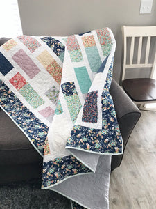 Matchsticks Quilt Pattern by Lindsey Weight for Primrose Cottage Quilts