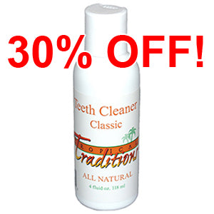 Classic - Teeth Cleaner - 4 oz. - All Natural