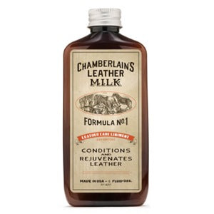 Chamberlain's Leather Care Liniment No. 1 - 6 oz with pad
