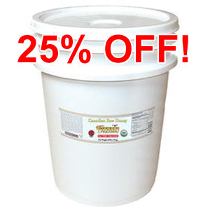 Organic Raw Honey - 60 lb. Pail