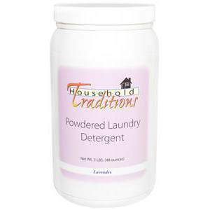 Household Traditions Powdered Laundry Detergent - Lavender – 3lbs.