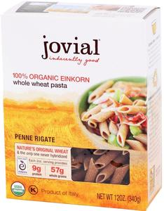 Organic Einkorn Whole Grain Penne Rigate - 12 oz.