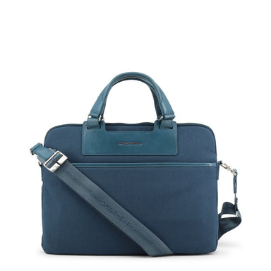 Piquadro Blue Messenger Bag