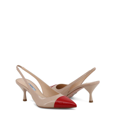 Prada Patent Leather Slingback Court Shoes