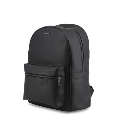 Armani Jeans Backpack with Laptop Protection in Black