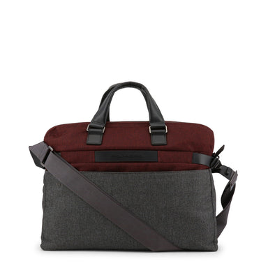 Piquadro Messenger Bag in Red/Grey