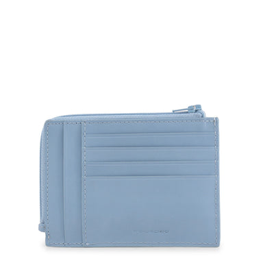 Piquadro Zip Around Wallet in Blue