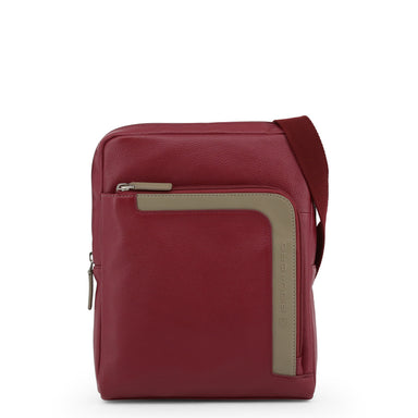 Piquadro Leather Cross-Body Bag in Red