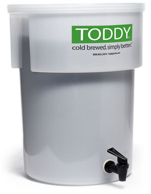 Toddy Commercial Cold Brew System with lift