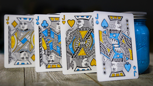Pollock Cardistry Playing Cards