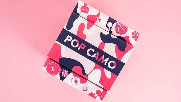 Pop Camo Playing Cards
