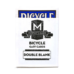 Bicycle Double Blank Playing Cards