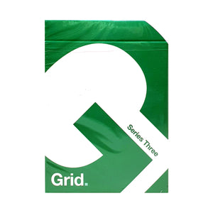 Grid Typographic v3 Playing Cards