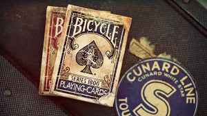 Bicycle Vintage Series 1800 Blue (Marked) Playing Cards