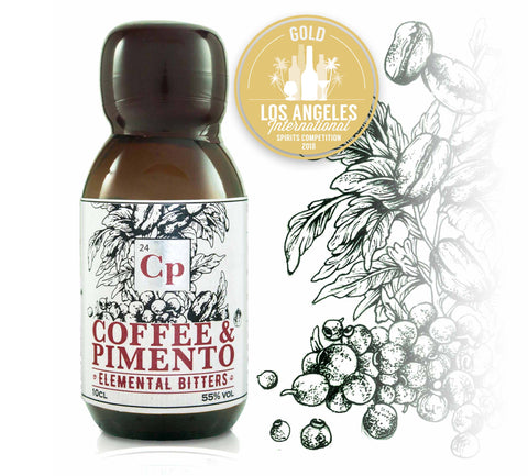 ELEMENTAL DISTILLERS Coffee & Pimento Bitters - The Cult Beer Store from Hashigo Zake