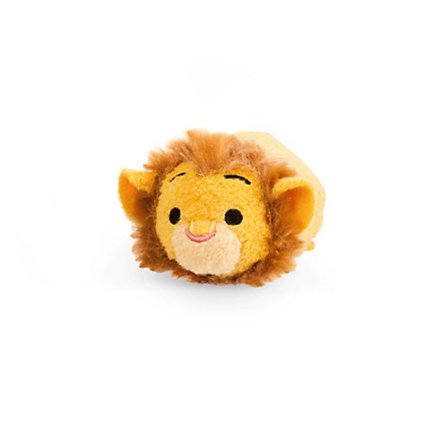 New Disney Store Mini 3.5  (S) Tsum Tsum Mufasa (Lion King Collection)