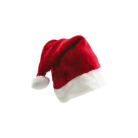 Santa Claus Hat Is Plush Fuzzy And Fun!