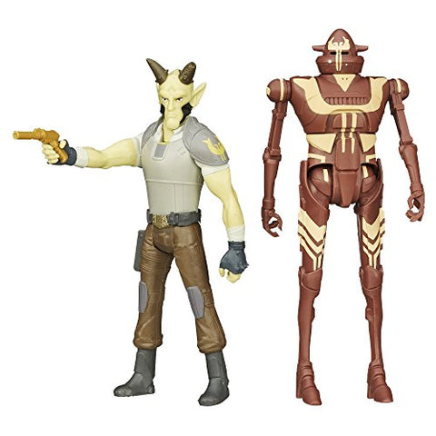 Star Wars Mission Series Figure Set (Cikatro Vizago And Ig-Rm)