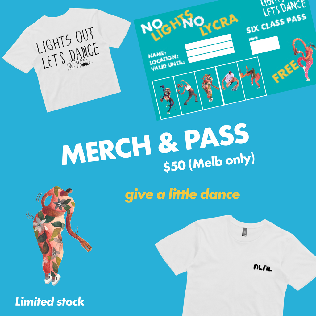 No Lights No Lycra Merch and Pass Pack (Melbourne Only)