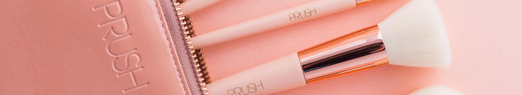 PRUSH makeup brushes