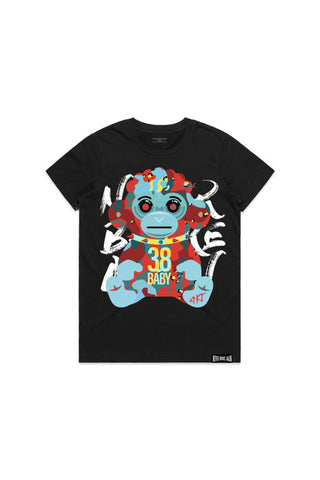 Hell Monkey Womans T-Shirt - Black