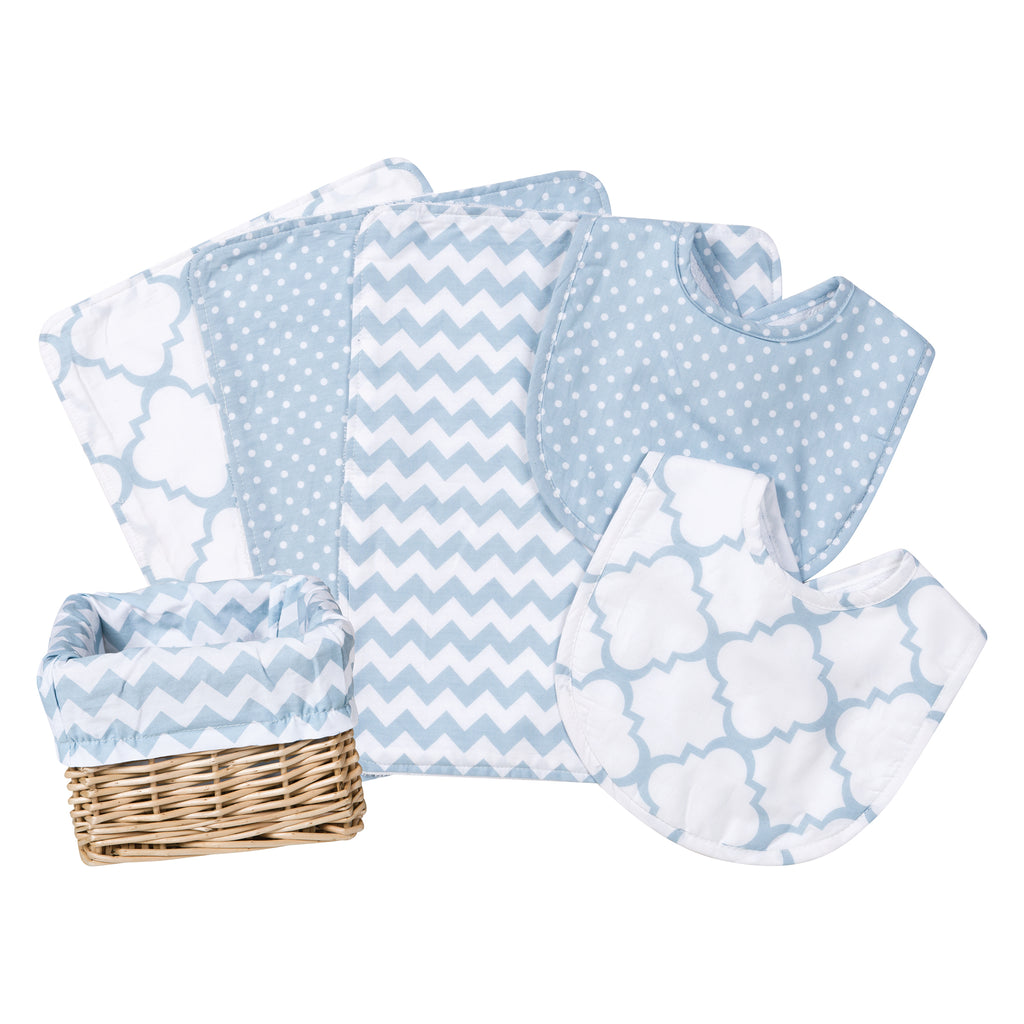 Blue Sky 7 Piece Feeding Basket Gift Set