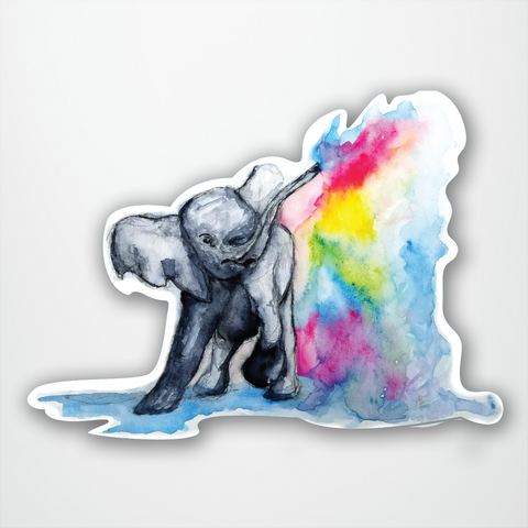 Watercolour Elephant