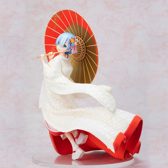 Re:ZERO -Starting Life in Another World-: Rem (Shiromuku) 1/7 Scale Figure Pre-order FURYU Corporation