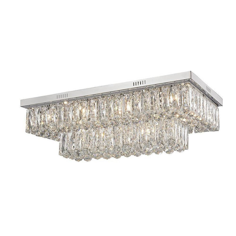 Majestuoso 12 Light Crystal Ceiling Light