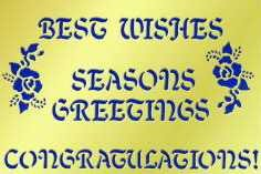 FS-852 Greetings Stencil
