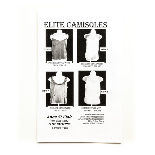 Elite Camisoles Pattern