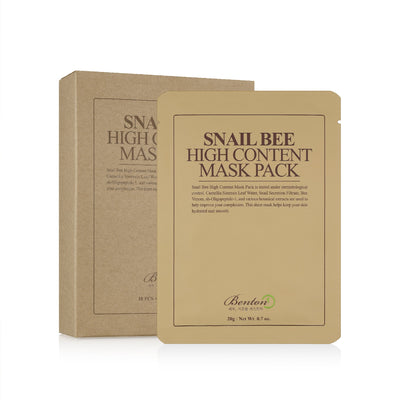 Benton Snail Bee High Content Sheet Mask - Skinspace