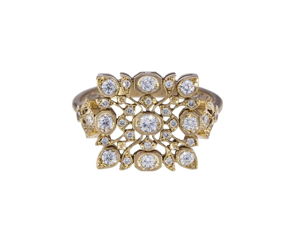 Small Diamond Avesh Ring - TWISTonline