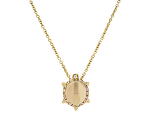 Diamond Turtle Mattei Necklace - TWISTonline