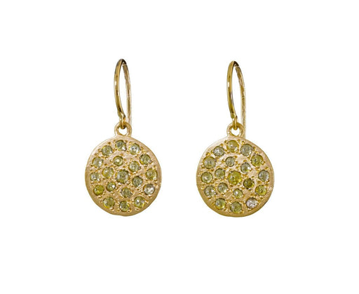 Diamond Mini Mars Earrings - TWISTonline