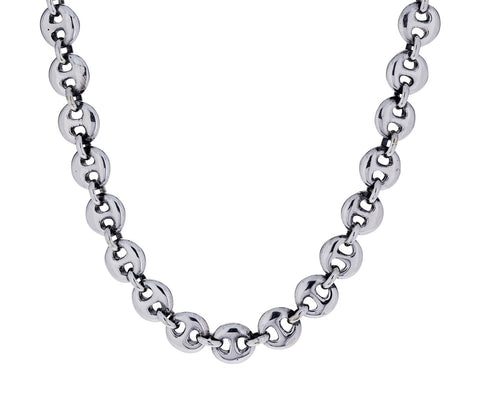 Small Circle Link Necklace - TWISTonline