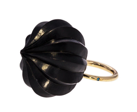 Black Temple Dome Ring - TWISTonline