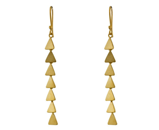 Small Triangle Cascade Earrings - TWISTonline