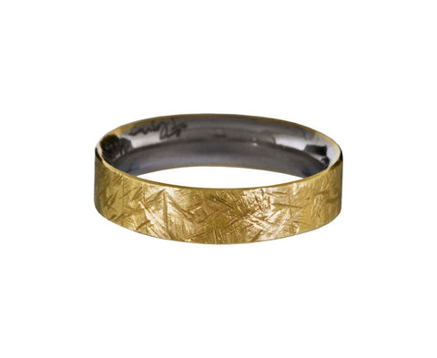 Textured Gold Band - TWISTonline