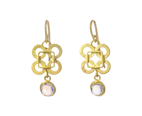 Casino Royale Moonstone Earrings