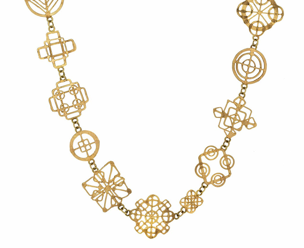 Gold Casino Royale Necklace with Emerald - TWISTonline