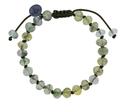 Prehnite Beaded Bracelet - TWISTonline