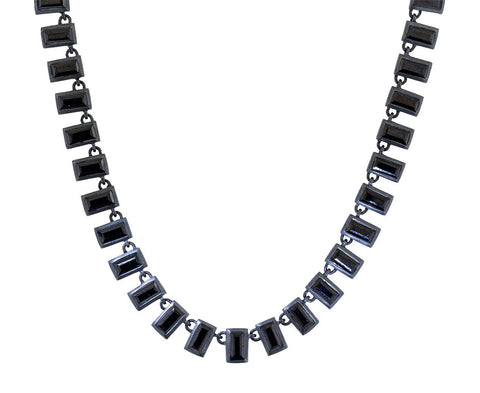 Black Spinel Mosaic Necklace - TWISTonline