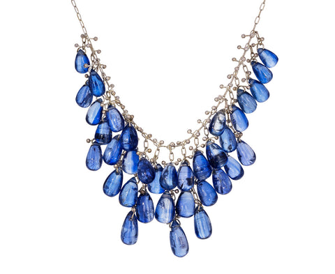 Kyanite Cluster Necklace - TWISTonline