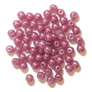 Pearls: 4mm: Lavender: Packs of 7g