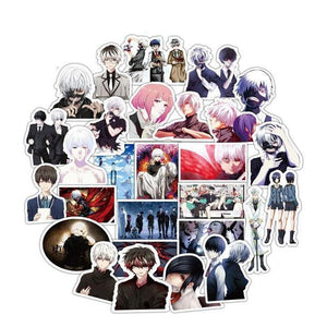 Exclusive Tokyo Ghoul 50 Sticker set