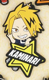 Rubber My Hero Academia Star Keychains