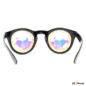 ZLiWear - NEW DESIGN- Kaleidoscope Glasses – Fractural  Rainbow
