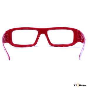Heart Effect Diffraction Glasses - Red Love