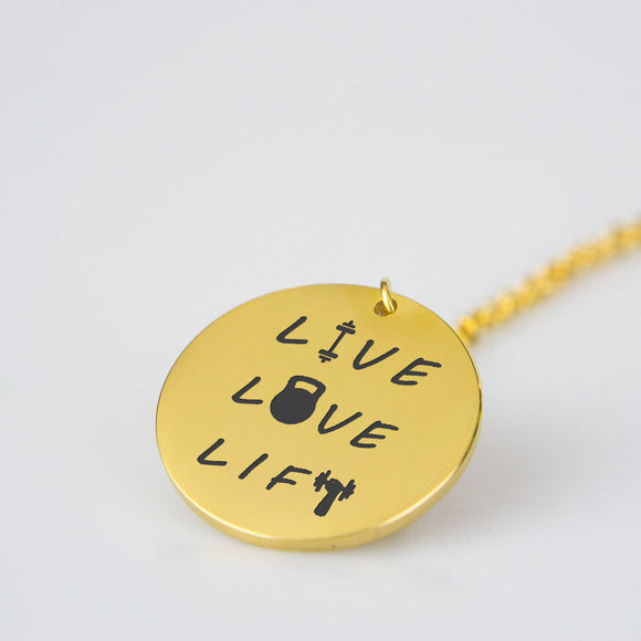 Live Love Lift - Stainless Steel